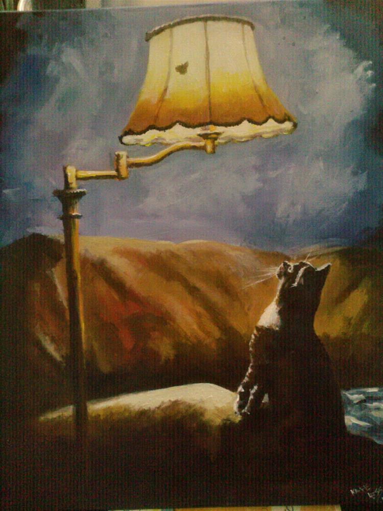 """Moth"" original fine art by Kate Less-Madsen"