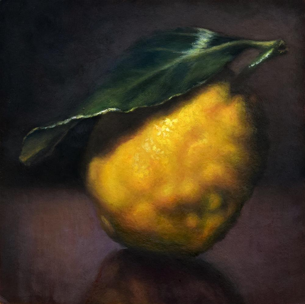 """Amalfi Lemon"" original fine art by Melissa  Imossi"