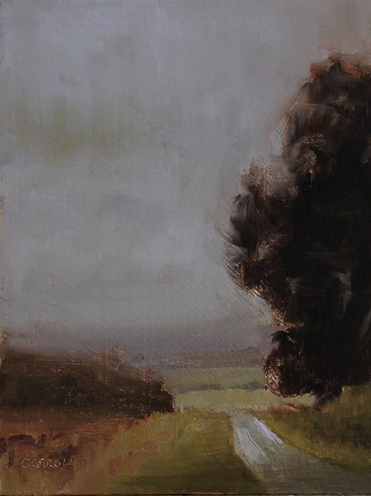 """Landscape Study #3"" original fine art by Neil Carroll"