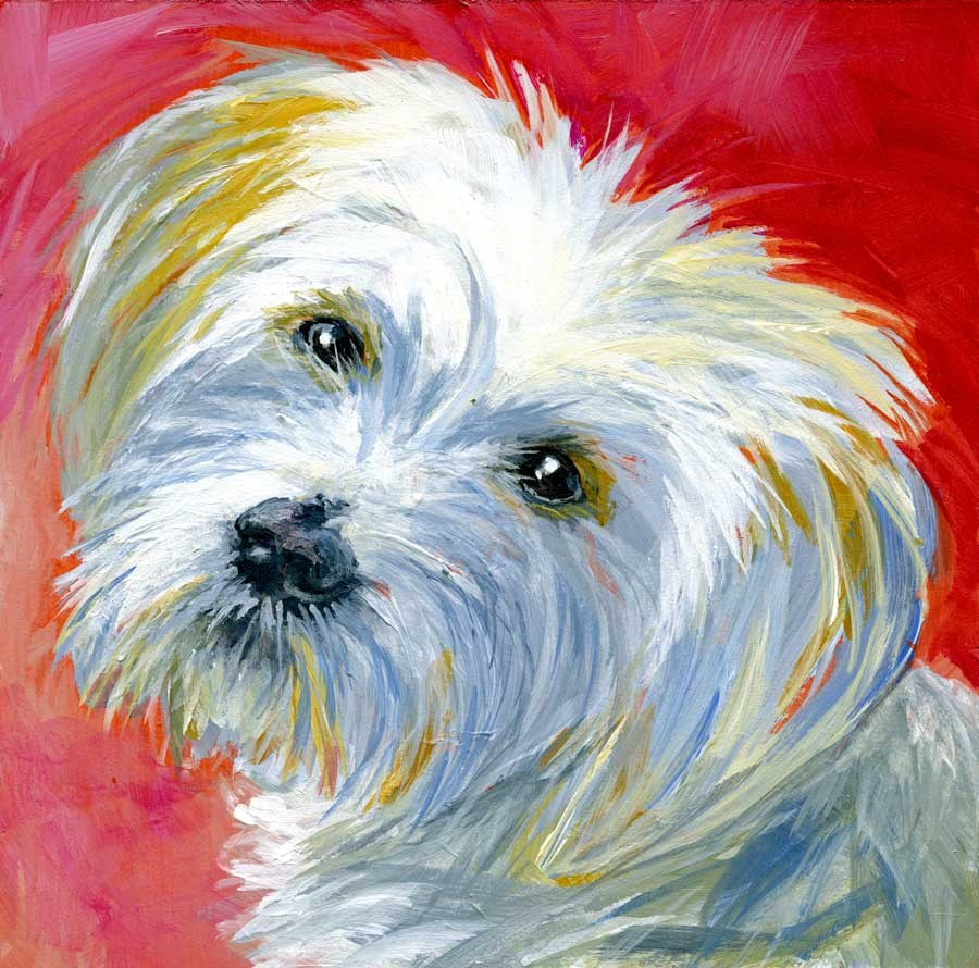 """Maggie May"" original fine art by Eileen Hennemann"
