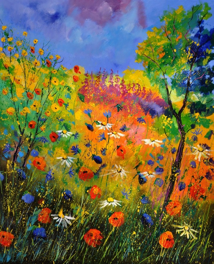 """summer 2014"" original fine art by Pol Ledent"