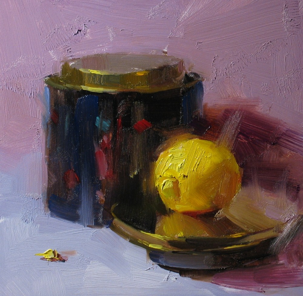 """""""Out of the Holodeck"""" original fine art by Qiang Huang"""
