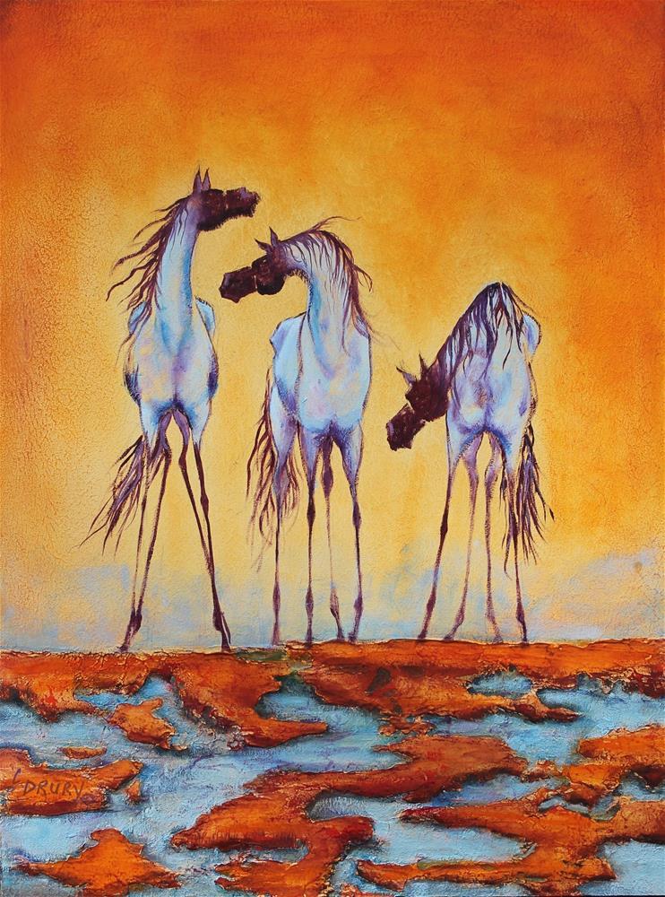 """Whispers"" original fine art by Colleen Drury"