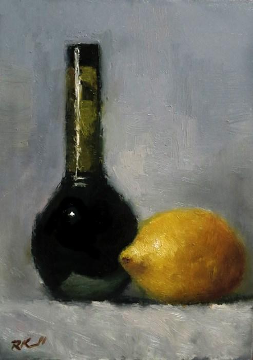 """""""Balsamic and Lemon"""" original fine art by Bob Kimball"""