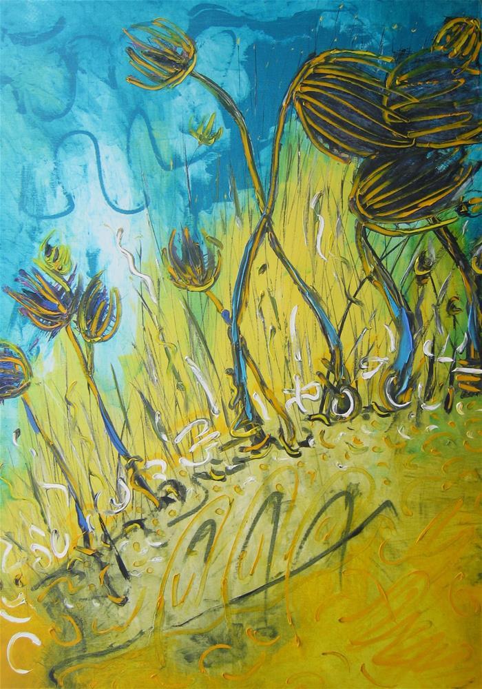 """Golfstream"" original fine art by Elena Lunetskaya"