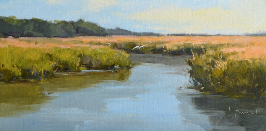 """Creek Flight"" original fine art by Laurel Daniel"