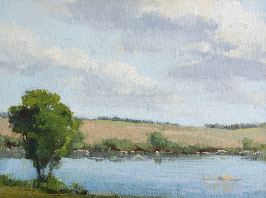 """Peace on the Llano"" original fine art by Laurel Daniel"