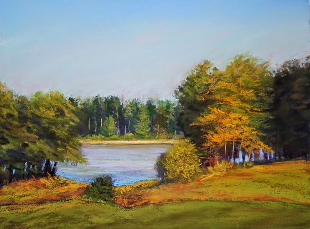 """Memories of Summer"" original fine art by Sharon Lewis"