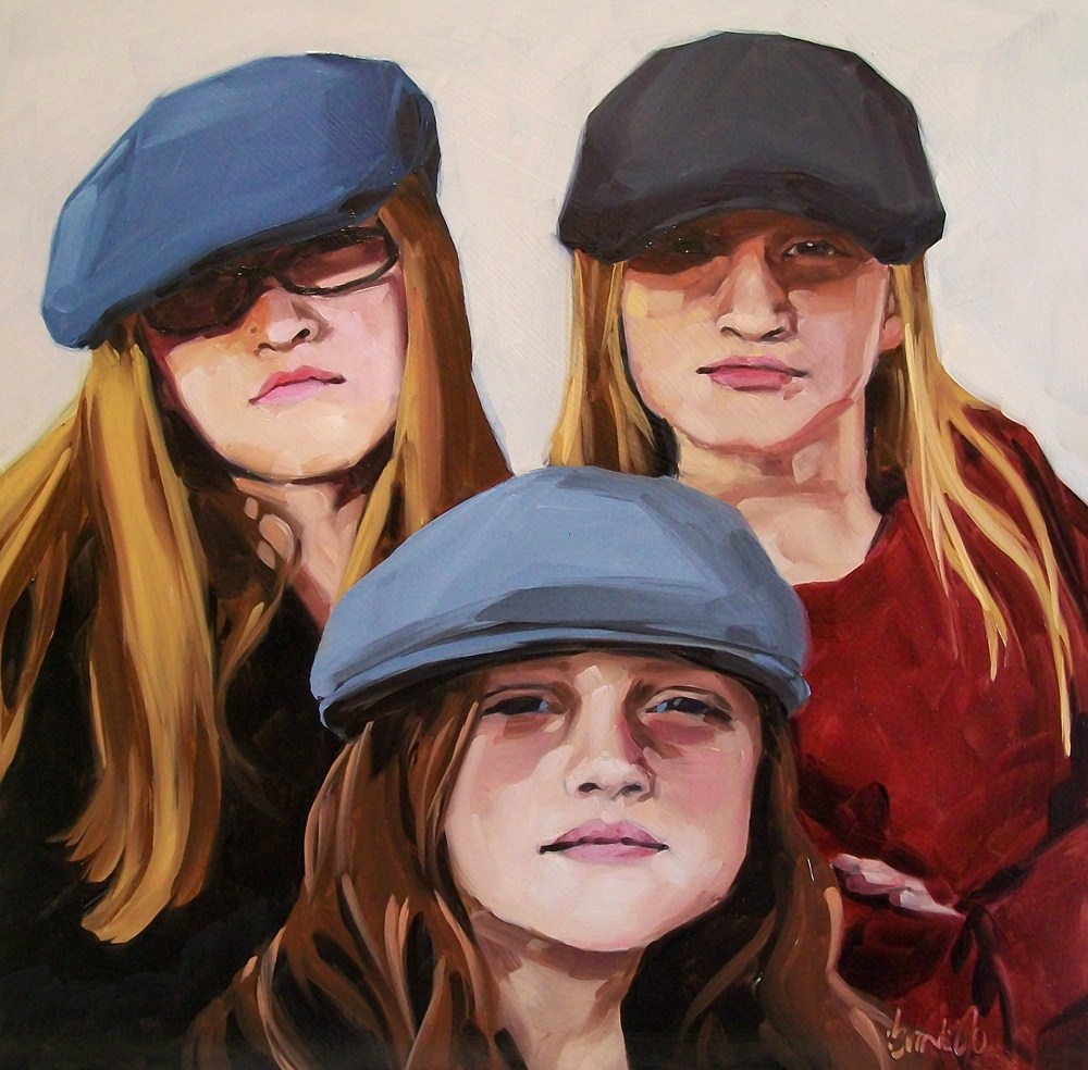 """Newsies"" original fine art by Brandi Bowman"