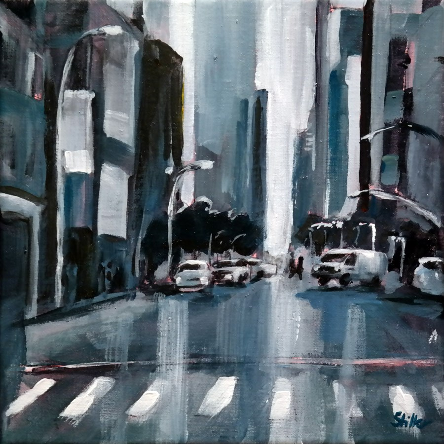 """1542 NY Study"" original fine art by Dietmar Stiller"