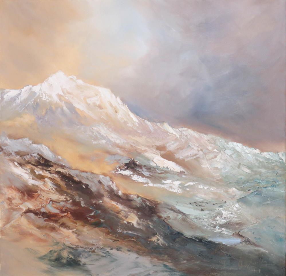 """Last Tracks"" original fine art by Christa Friedl"