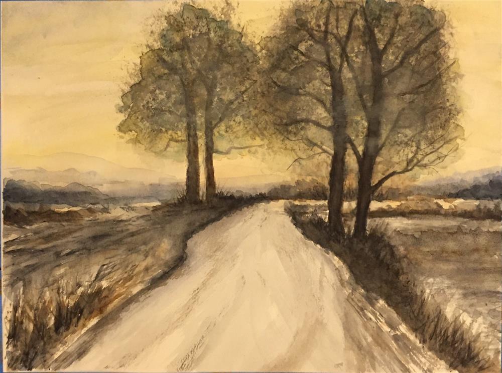 """""""Somewhere"""" original fine art by Melissa Gresham"""