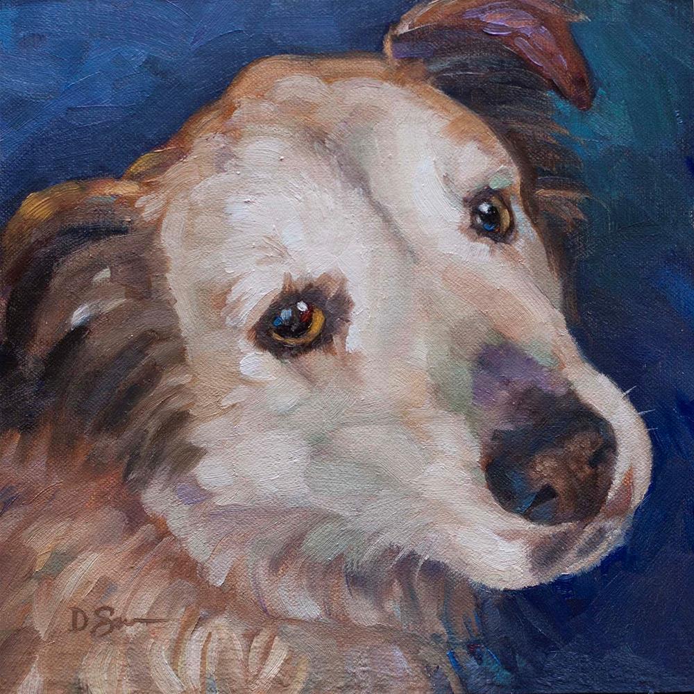 """Rusty"" original fine art by Deborah Savo"