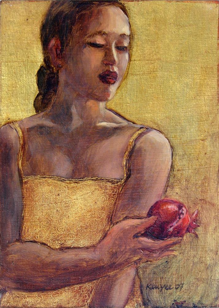 """Persephone"" original fine art by Myriam Kin-Yee"