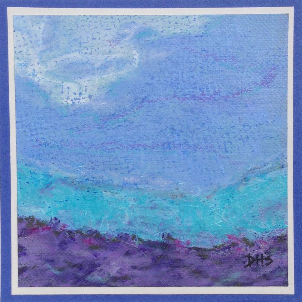 """Shored Up"" original fine art by Dotty  Seiter"