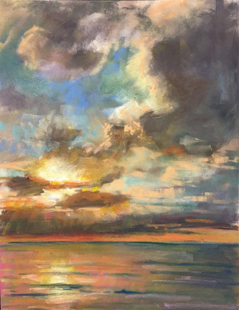 """""""Atlantic Overture"""" original fine art by karen israel"""