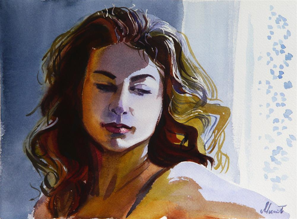 """Barbara"" original fine art by Beata Musial-Tomaszewska"
