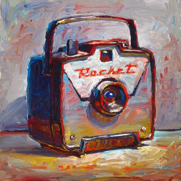 """Rocket Camera"" original fine art by Raymond Logan"