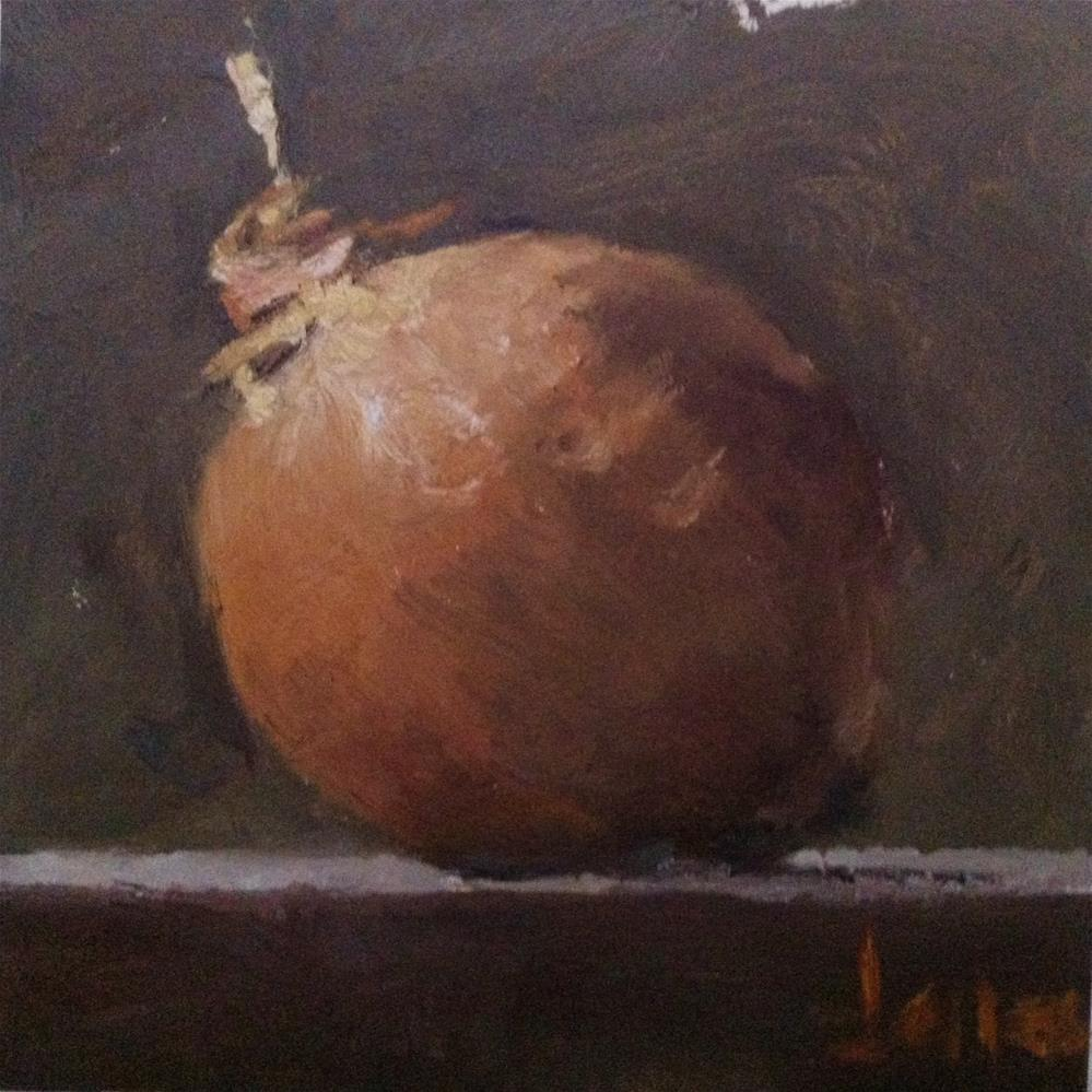 """Onion"" original fine art by Richard Jones"