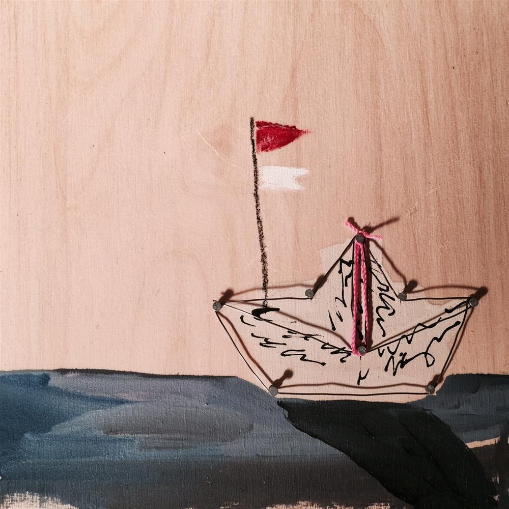 """""""426 Truce"""" original fine art by Jenny Doh"""