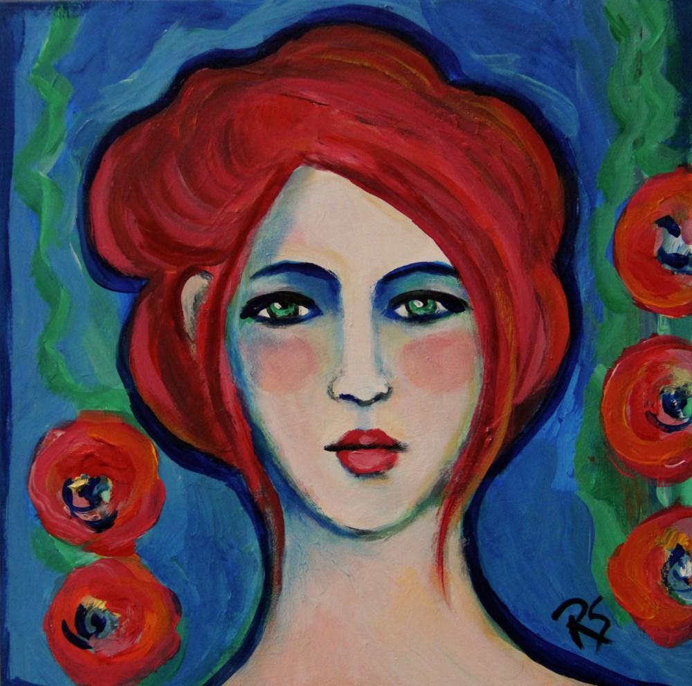 """Fiona"" original fine art by Roberta Schmidt"