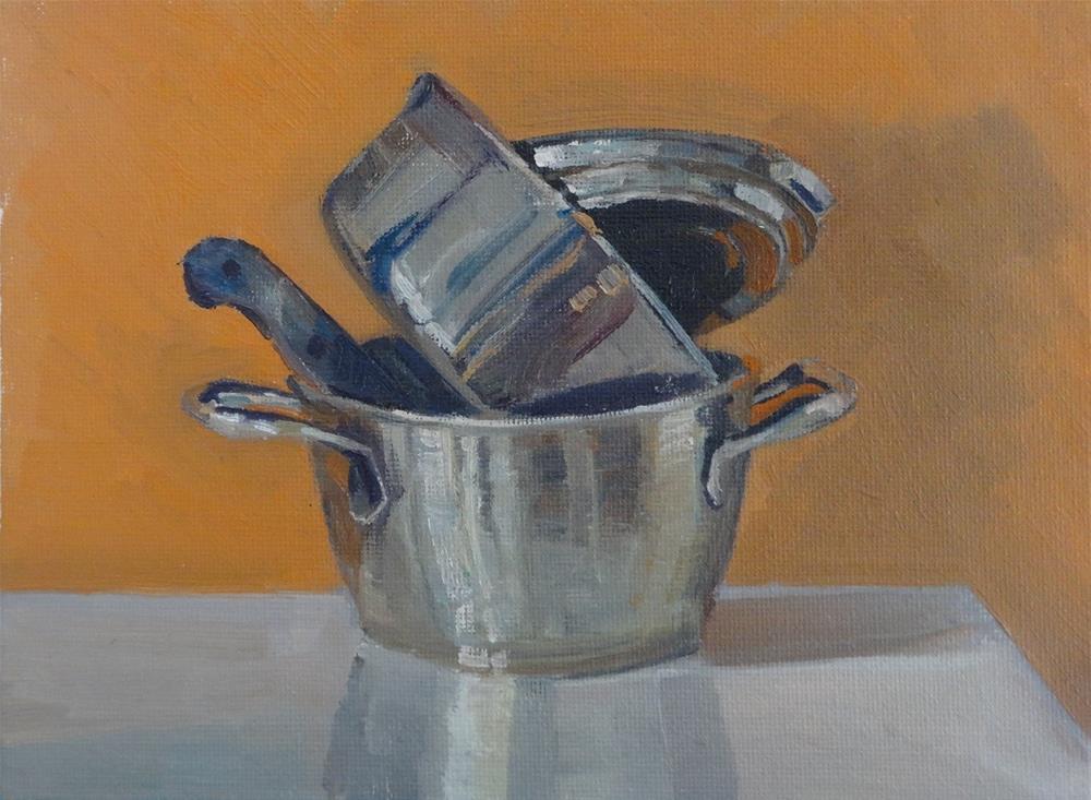"""""""Cookware"""" original fine art by Hansen Tsien"""