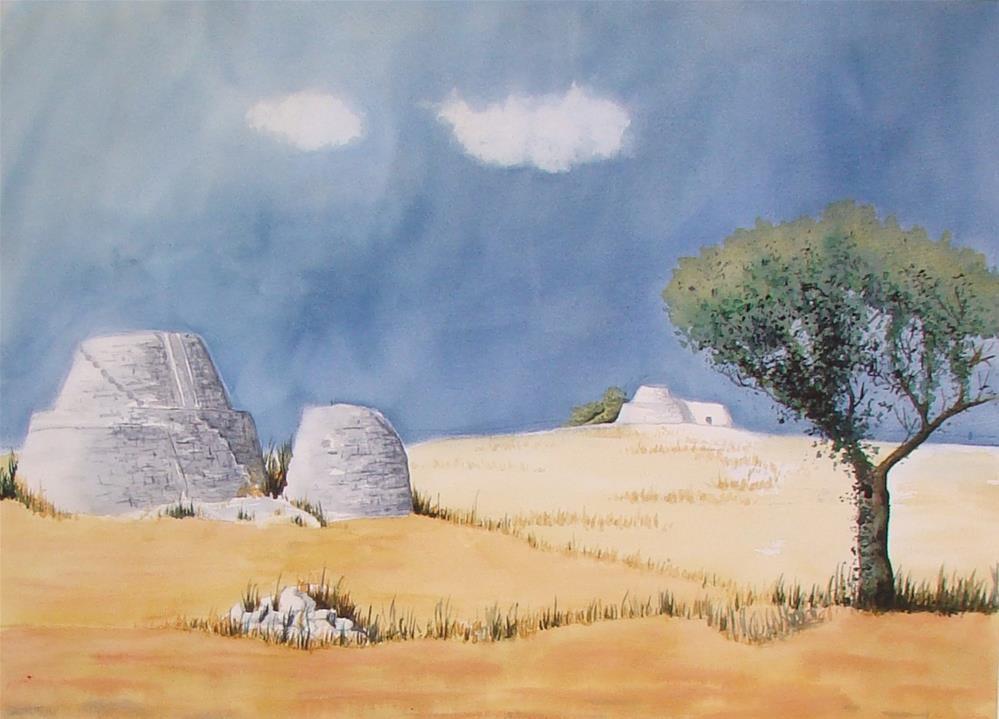 """""""Italy I"""" original fine art by Vito Cagnazzo"""