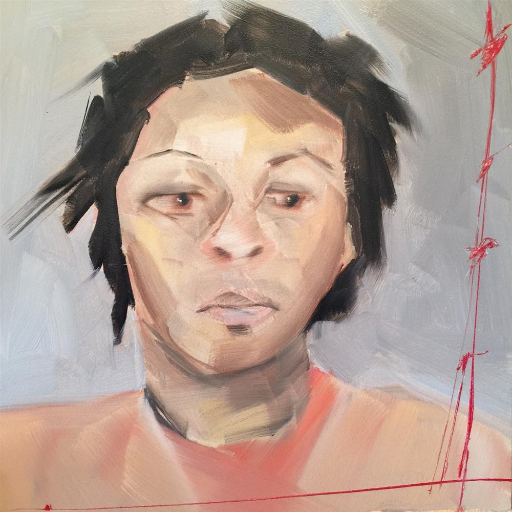 """""""478 Sandra Bland"""" original fine art by Jenny Doh"""