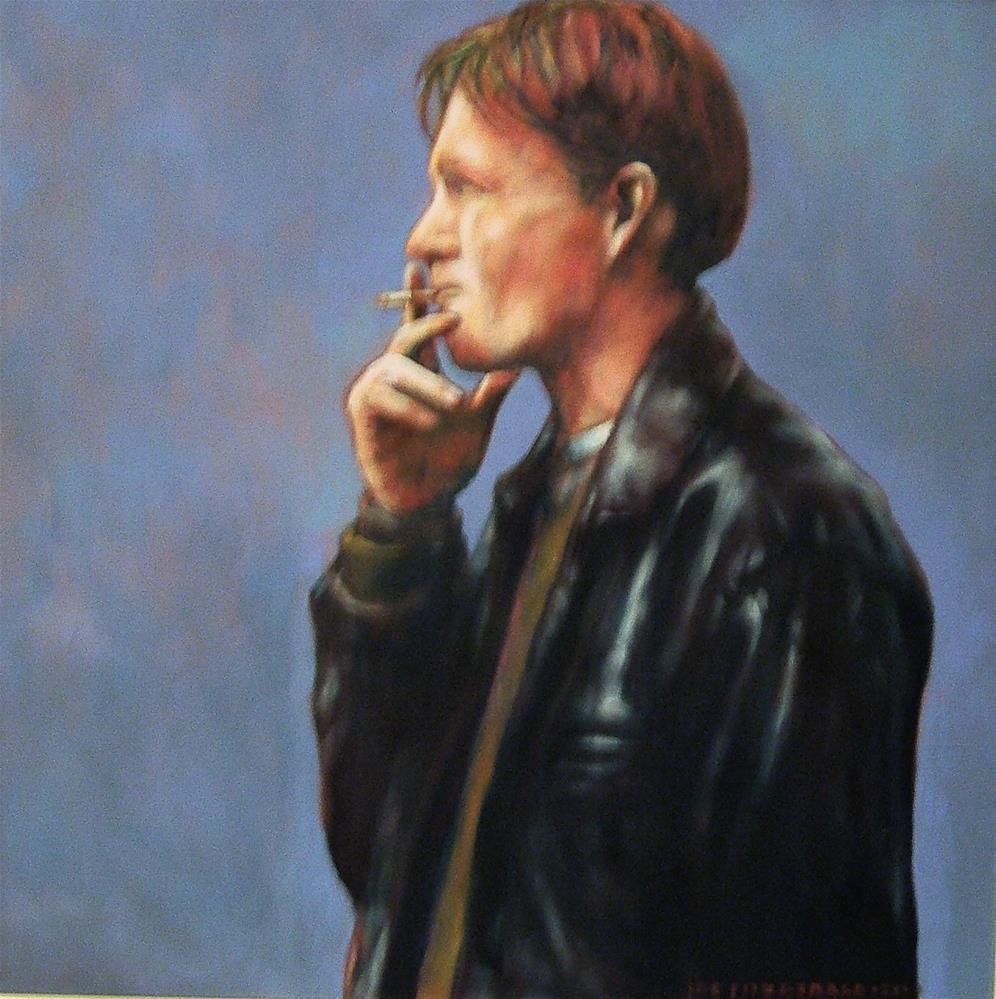 """John Gibb"" original fine art by Joe Fitzgerald"