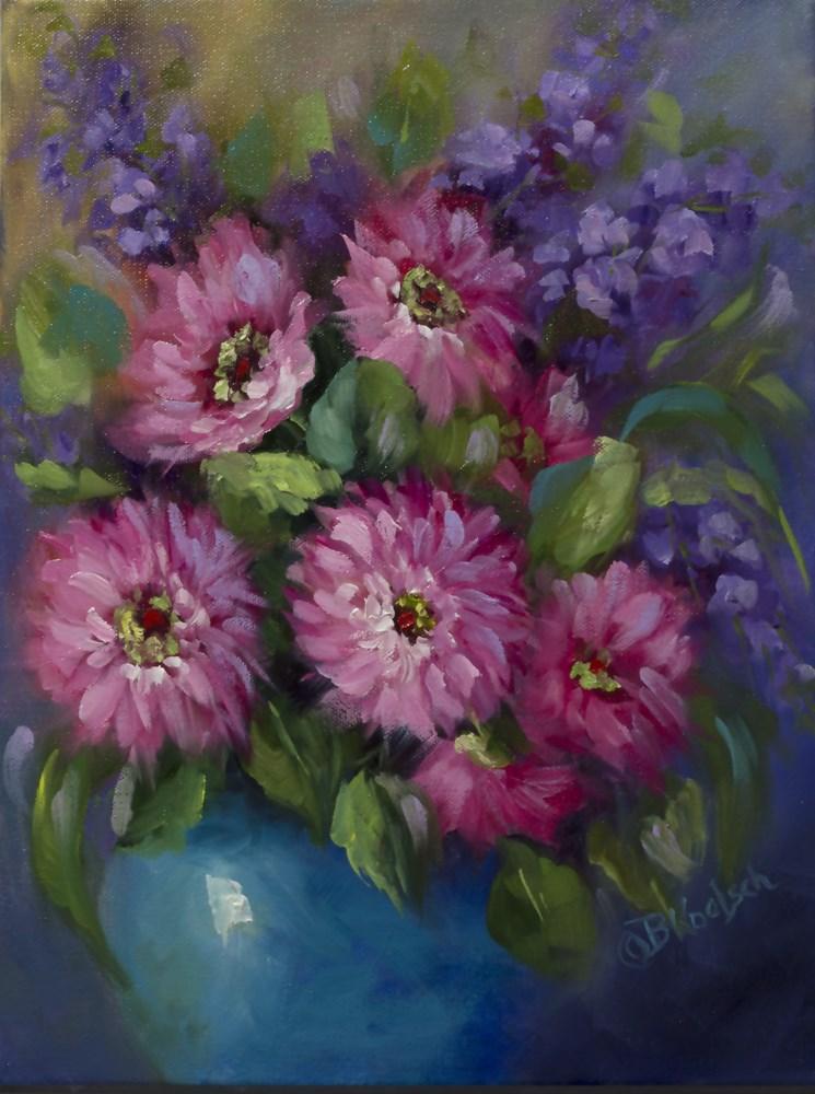 """""""Dazzling Daisies"""" original fine art by Bobbie Koelsch"""