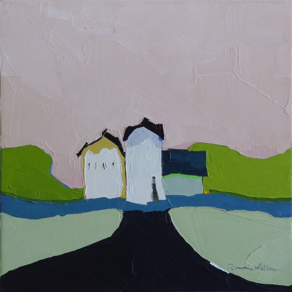 """Country Lane II"" original fine art by Donna Walker"