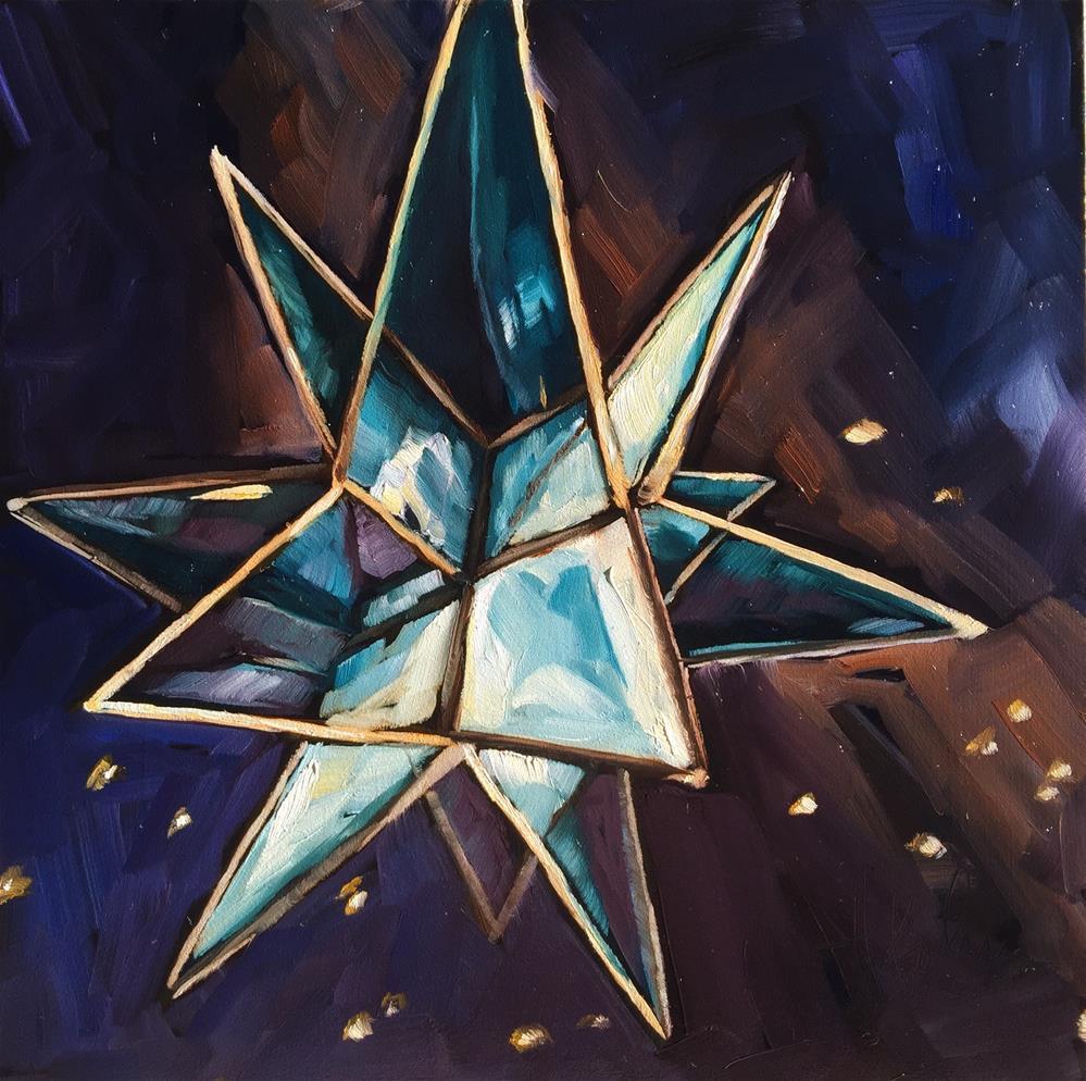 """Shining Through"" original fine art by Hallie Kohn"