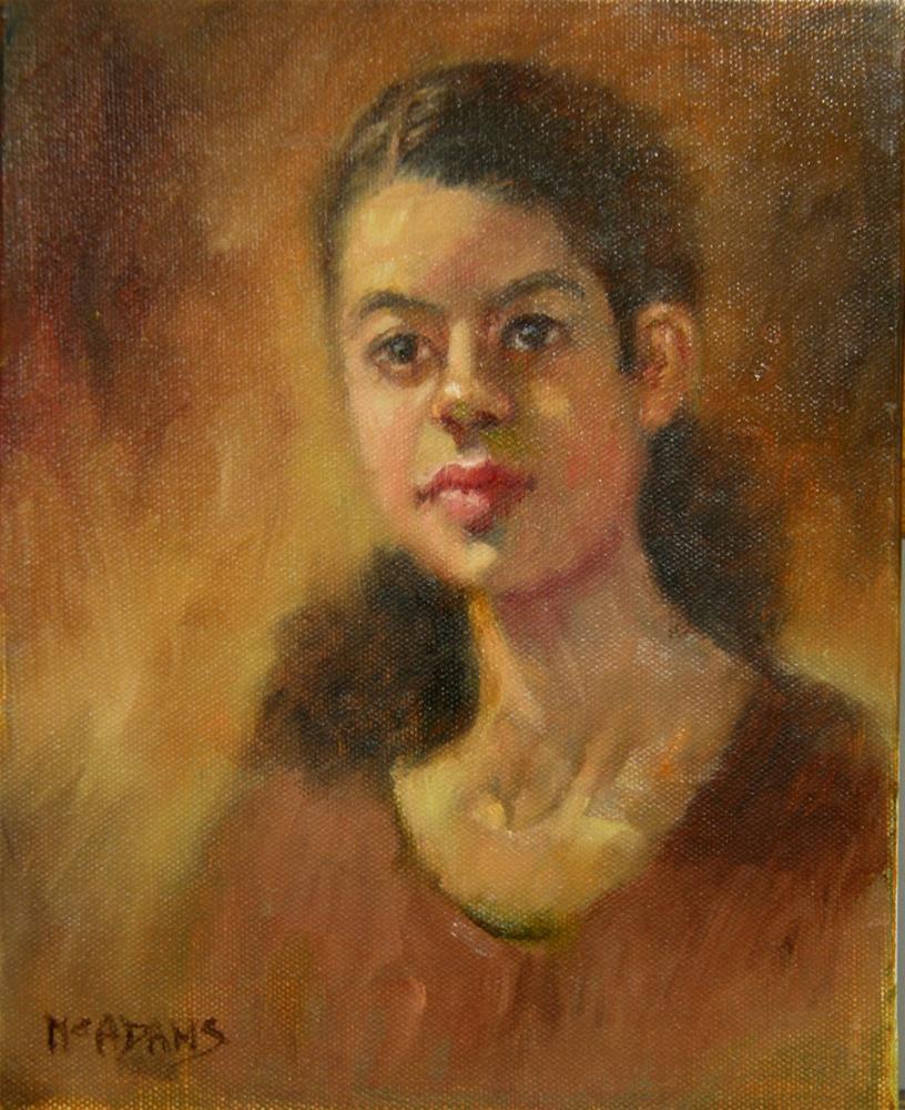"""Untitled"" original fine art by Phyllis McAdams"