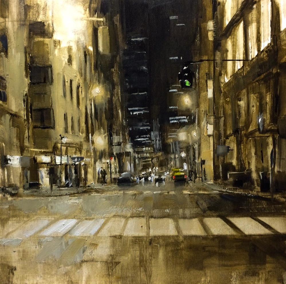 """Street composistion 5"" original fine art by Thomas Ruckstuhl"