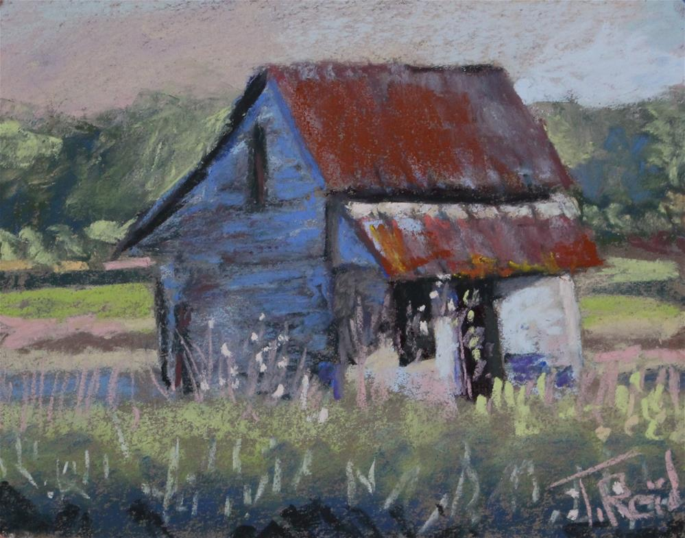 """Abandoned Farm House"" original fine art by Toby Reid"