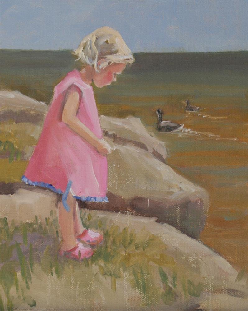 """""""poppy"""" original fine art by Carol Carmichael"""