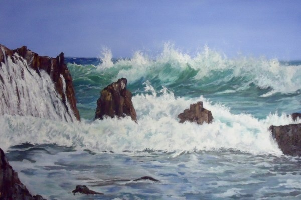 """Timeless"" original fine art by Nelvia  McGrath"