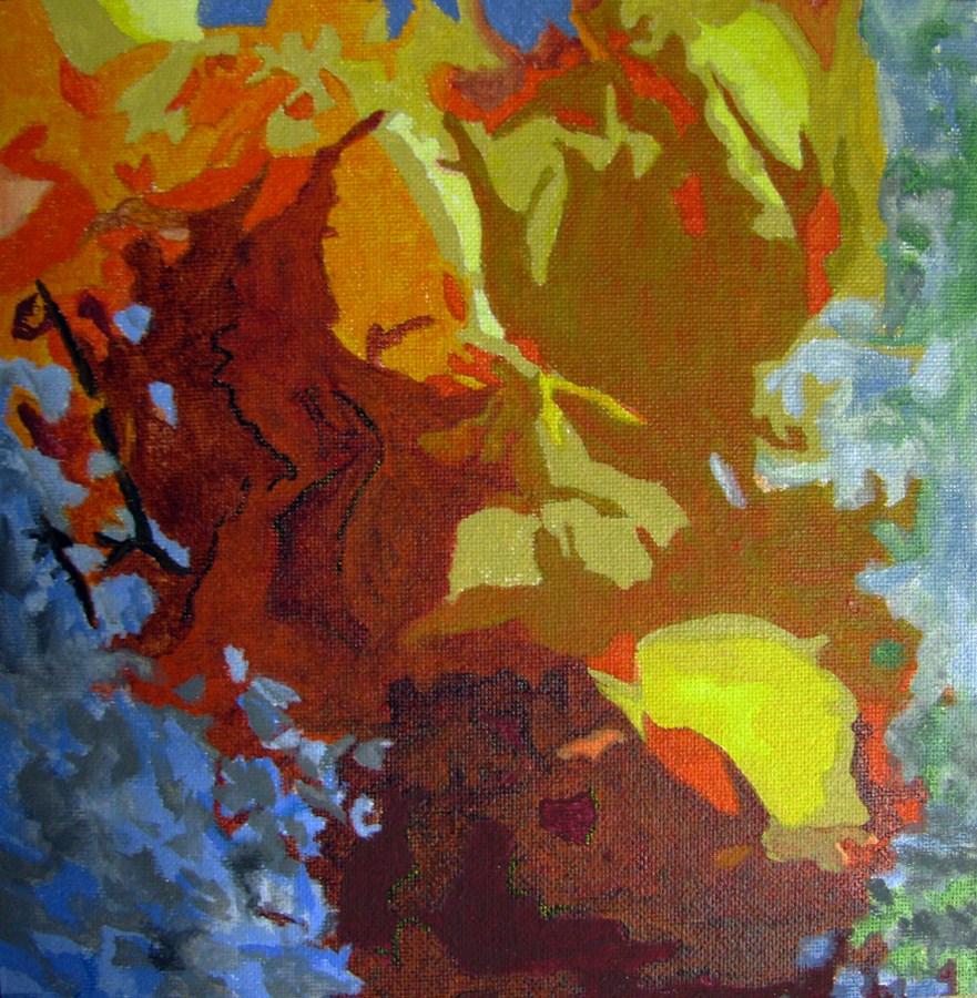 """Passion"" original fine art by Nan Johnson"
