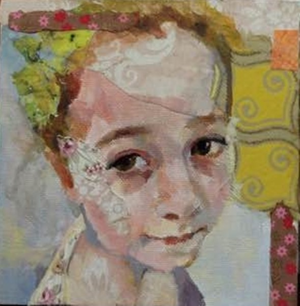 """Sophie 3"" original fine art by Katie Wilson"