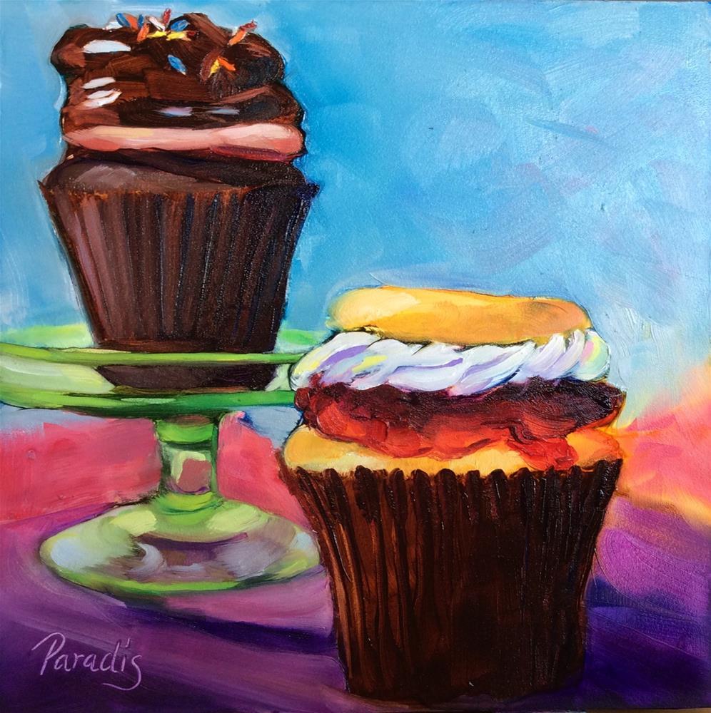 """Jelly Cake from Sweet Mia's"" original fine art by Rita Paradis"