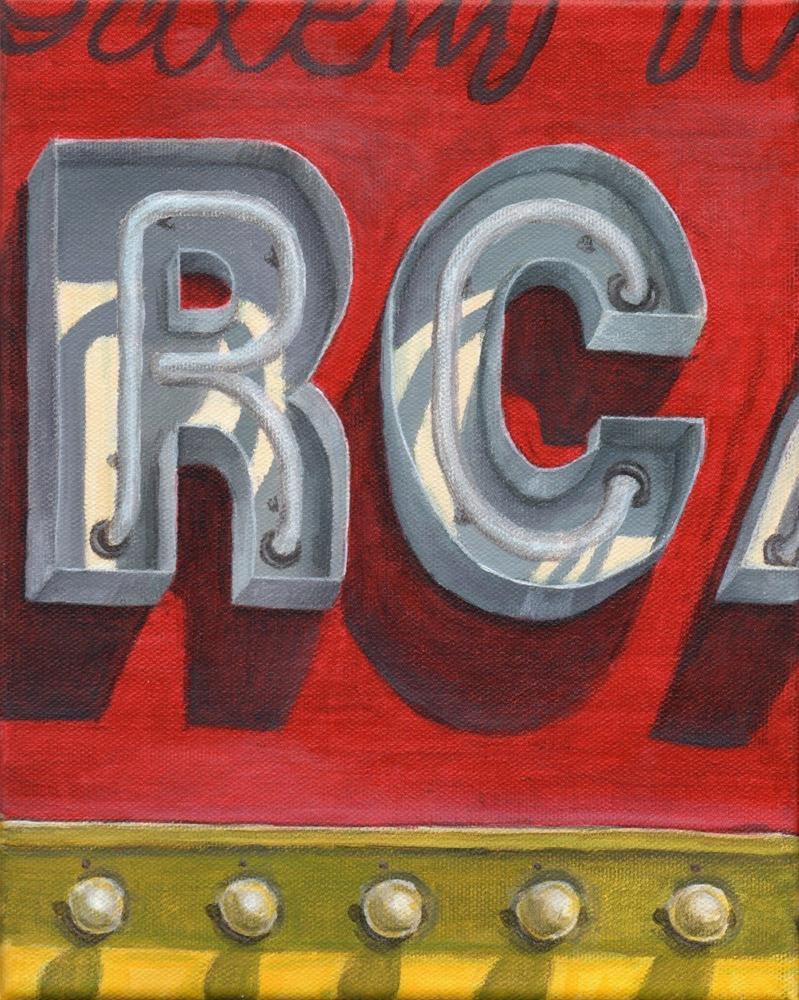 """RC"" original fine art by Debbie Shirley"