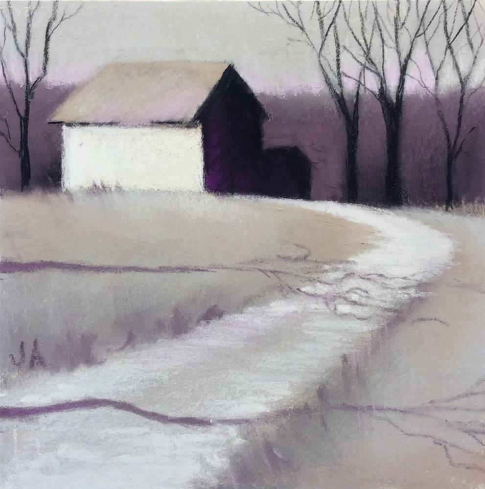 """To the Place Where I Belong"" original fine art by Judy Albright"