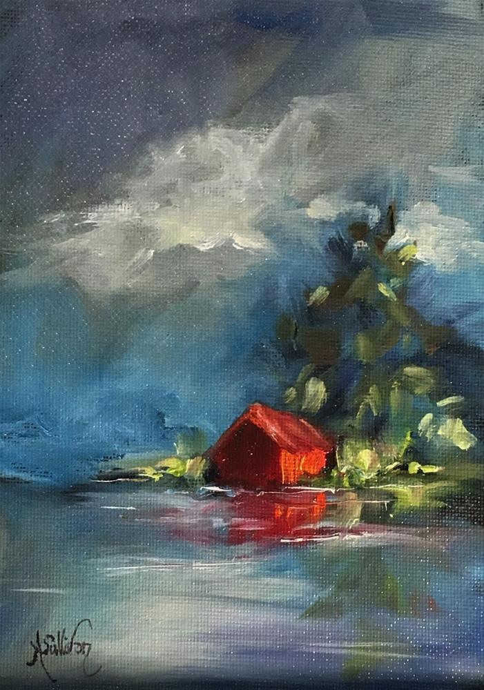 """Dreams Really Do Come True landscape painting by Alabama Artist Angela Sullivan"" original fine art by Angela Sullivan"