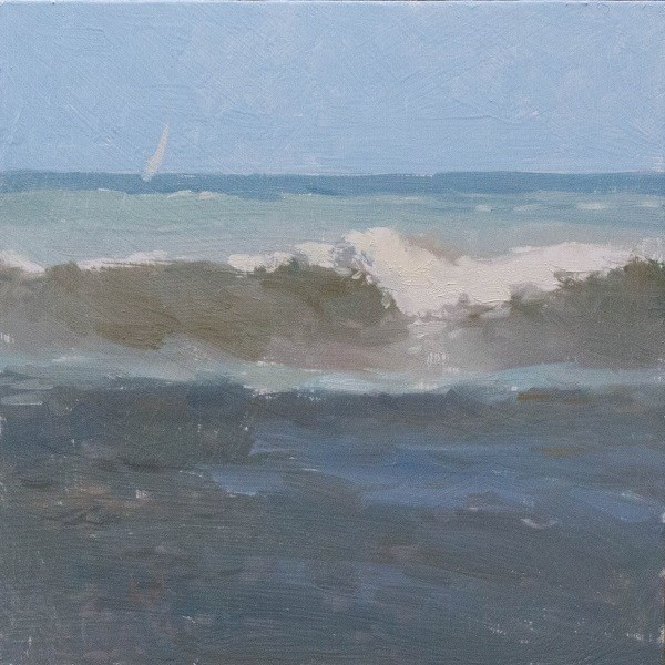 """Sandy Break"" original fine art by Randall Cogburn"