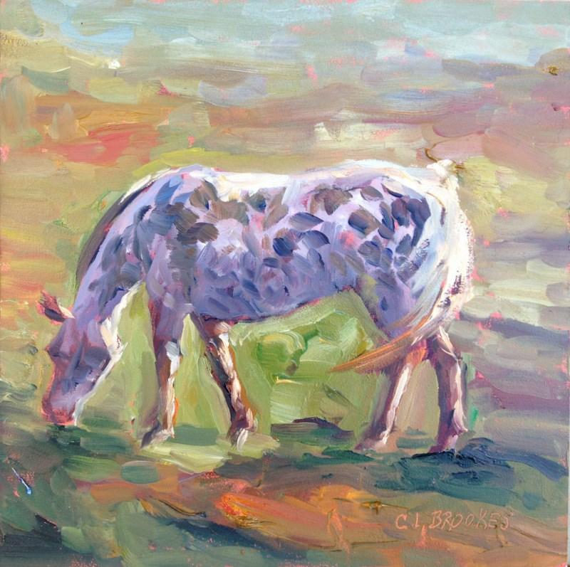 """Appaloosa Beauty, Day 5"" original fine art by Claudia L Brookes"