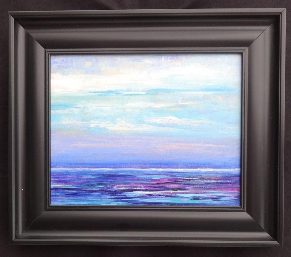 """3238 - Pearly Seascape"" original fine art by Sea Dean"
