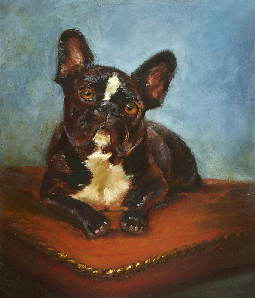 """Prince Sergio"" original fine art by Lisa Wald"