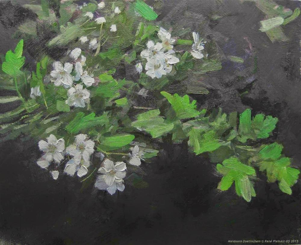 """Hawthorn Doetinchem, The Netherlands"" original fine art by René PleinAir"