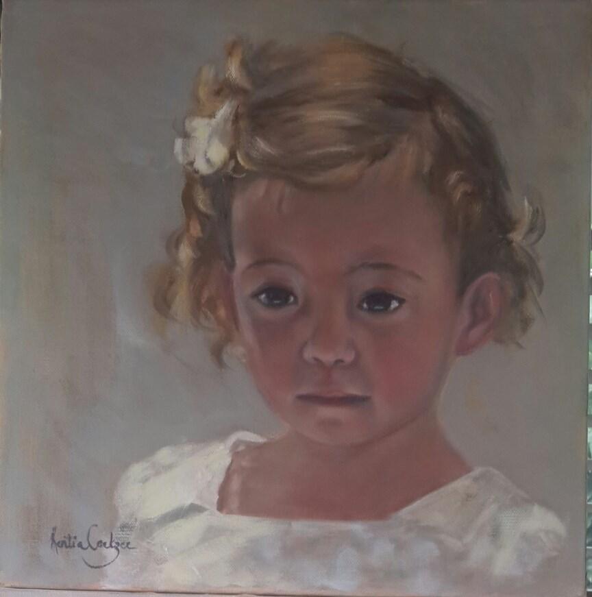 """Juliette"" original fine art by Rentia Coetzee"