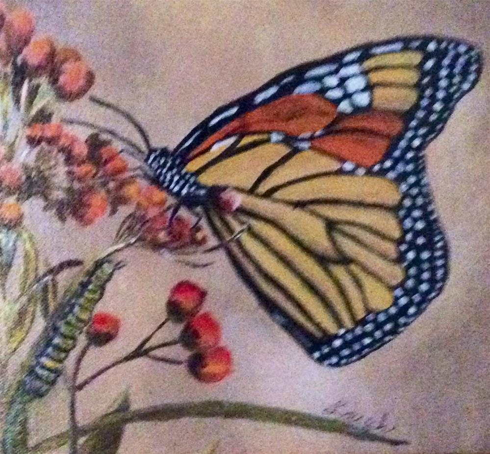 """""""Two Stages of Life"""" original fine art by Charlotte Lough"""